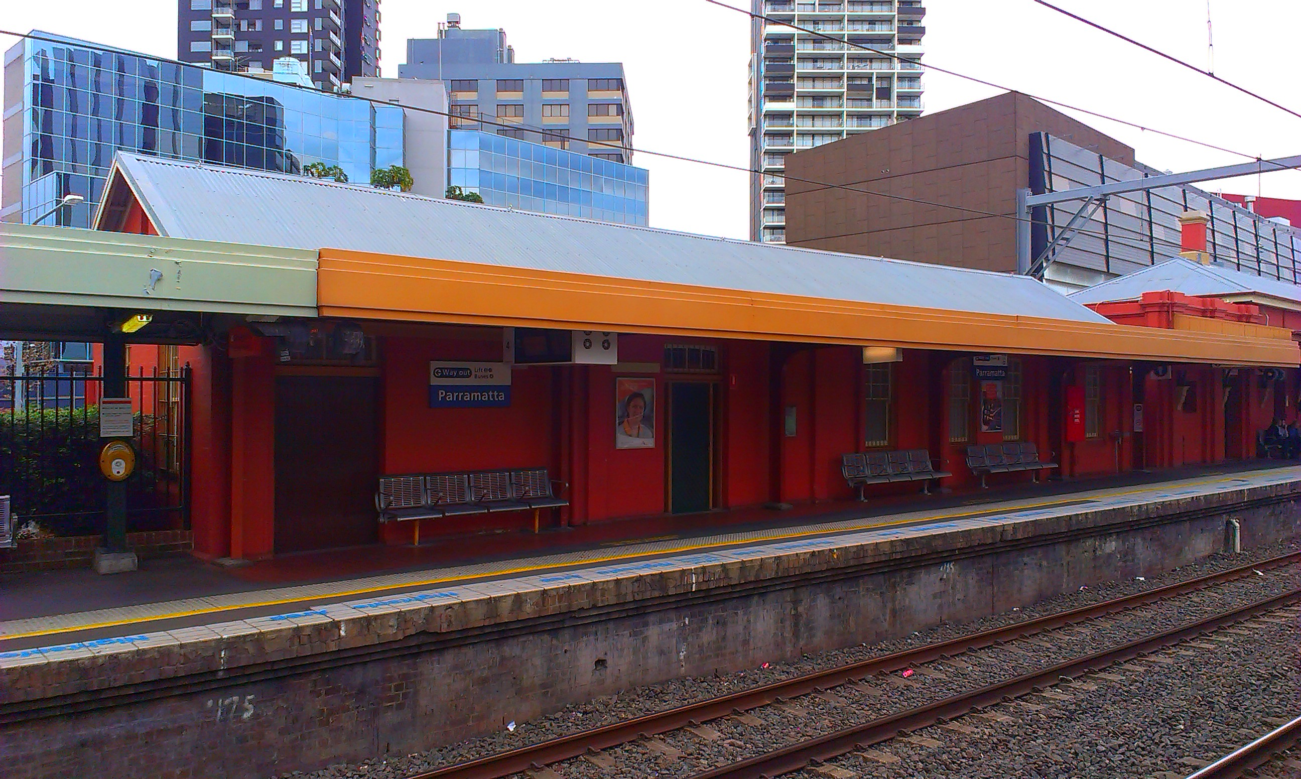 Parramatta Station 1920s And 1940s And 1980s Historic